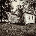 Oak Grove Church On Turnbull Island by Andy Crawford