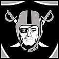 Oakland Raiders by Tony Rubino