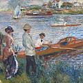 Oarsmen At Chatou by Auguste Renoir