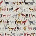 Oatmeal Spice Deer by MGL Meiklejohn Graphics Licensing
