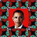 Obama Abstract Window 20130202p0 by Wingsdomain Art and Photography