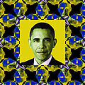 Obama Abstract Window 20130202p55 by Wingsdomain Art and Photography