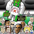 Obama Care Frankenstein Balloon by Dan Youra