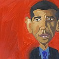 Obama Caricature by Isaac Walker