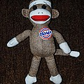 Obama Sock Monkey by Rob Hans