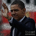 Obama Usa Typography Design by Boon Mee
