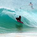 Obama's Boyhood Bodysurfing Beach by Kevin Smith