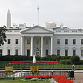 Obelisk And White House by Christiane Schulze Art And Photography