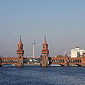 Oberbaum Bridge - Berlin by Christiane Schulze Art And Photography