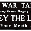 Obey The Law Keep Your Mouth Shut by War Is Hell Store
