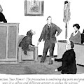 Objection, Your Honor!  The Prosecution by Danny Shanahan