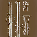 Oboe Patent 1931 by Mountain Dreams