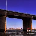 O.c. Bridge N Skyline by Robert McCubbin