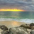 Ocean At Dawn by Donna Doherty