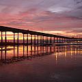 Ocean Beach Pier At Sunset by Nathan Rupert