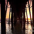 Oceanside Pier Tunnel by Sean Davey