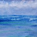 Gentle Ocean Waves -  Original Watercolor by Debbie Portwood