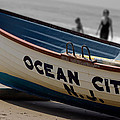 Ocean City Nj Iconic Life Boat by Tom Gari Gallery-Three-Photography