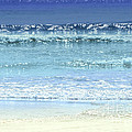 Ocean Colors Abstract by Elena Elisseeva