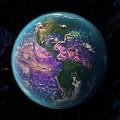 Ocean Currents Off The Americas by Karsten Schneider