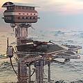 Ocean Refueling Platform by Michael Wimer