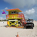 Ocean Rescue Miami by Christiane Schulze Art And Photography
