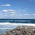 Great Ocean Road Surf, Australia - Panorama by Ian Mcadie