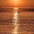 Ocean Sunrise At Montauk Point by William Jobes