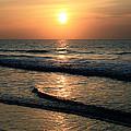 Ocean Sunrise Over Myrtle Beach by Scott Wood