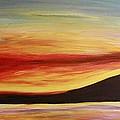 Ocean Sunset by Rebecca Schoof