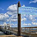 Ocean View Fishing Pier Color by Williams-Cairns Photography LLC
