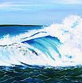Ocean Wave by Anne Marie Brown