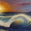 Ocean Wave by Darren Robinson