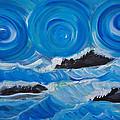 Ocean Waves by Deyanira Harris