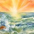 Ocean Waves IIi by Summer Celeste
