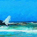 Ocean Waves by Peggy Gabrielson