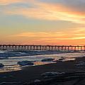 Oceanana Pier Sunset by Dan Williams