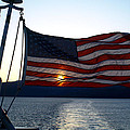 Oceanic Old Glory by Jessica Foster