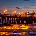 Oceanside Evening by Diana Powell