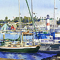 Oceanside Harbor by Mary Helmreich