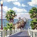 Oceanside Pier by Mary Helmreich