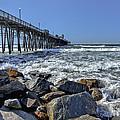 Oceanside Rocks by Diana Powell