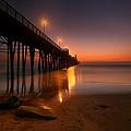 Oceanside Sunset 15 by Larry Marshall