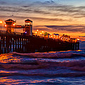 Oceanside Sunset IIi by Diana Powell