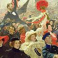 October 17th 1905 by Ilya Efimovich Repin