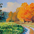 October Backroad by Keith Burgess