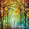 October In The Forest by Leonid Afremov