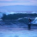 October Surf by Christopher Koski