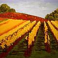 October Vineyard by Nancy Jolley