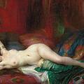 Odalisque by Henri Adrien Tanoux